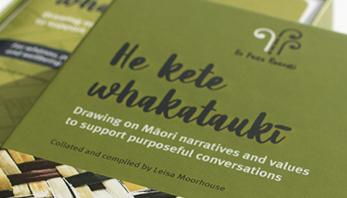 He kete whakataukī