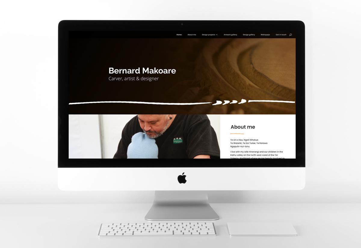 Bernard Website home