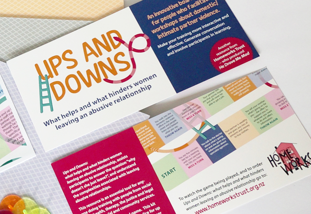 Ups And Downs flyer