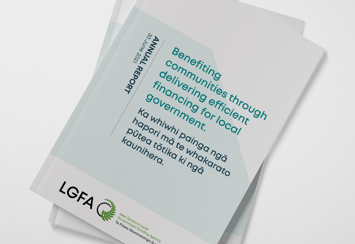 LGFA annual report 2021 cover